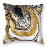 Stone Prose Throw Pillow