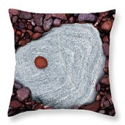 Stone Simplicity Throw Pillow