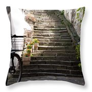 Stone Stairs Throw Pillow
