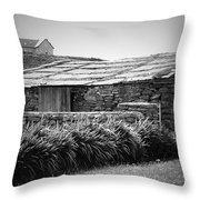 Stone Structure Doolin Ireland Throw Pillow
