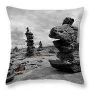 Stone Tower Throw Pillow