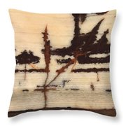 Stone Vision Corral - B Throw Pillow