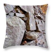 Stone Wall 2 Throw Pillow