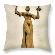 Stoned Beauty Throw Pillow