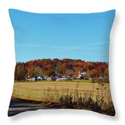 Stonefort Throw Pillow