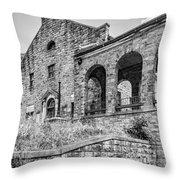 Stonehaven Monochrome  Throw Pillow