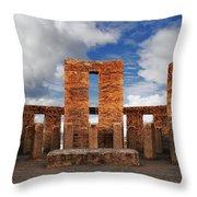 Stonehenge Altar Throw Pillow