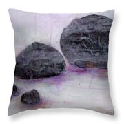 Stones 2 Throw Pillow