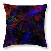 Stones Of Space  Throw Pillow