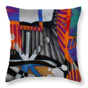 Stones That Roll Throw Pillow