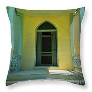 Stonewall Door Throw Pillow