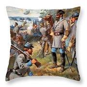 Stonewall Jackson, 1861 Throw Pillow