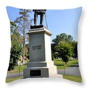 Stonewall Jackson Throw Pillow