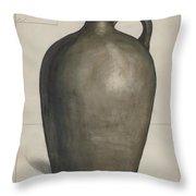 Stoneware Jug Throw Pillow