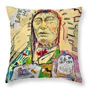 Stoney Chief  Throw Pillow