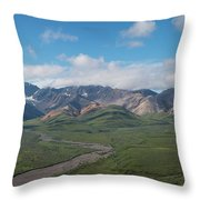 Stony Hill Overlook  Throw Pillow by Michael Ver Sprill