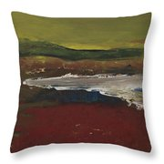 Stop And Go Landscape Throw Pillow