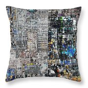 Stop IIi  Throw Pillow