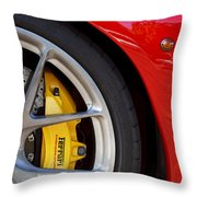 Stop It Red Throw Pillow