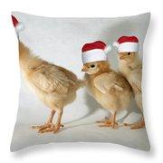 Stop Shoving Throw Pillow