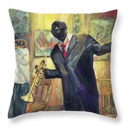 Stoppin To Feel It Throw Pillow