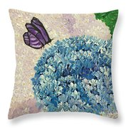 Stopping Over Throw Pillow