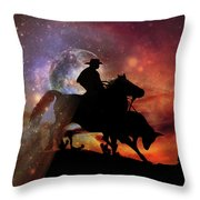 Stopping Power  Throw Pillow