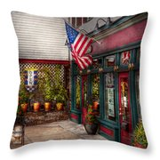 Store - Flemington Nj - Historic Flemington  Throw Pillow