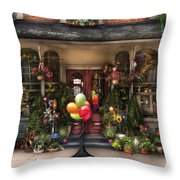 Store - Strasburg Pa - Petals And Beans Throw Pillow