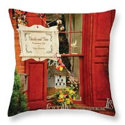 Store - Strausburg Pa - Thistle And Vine Throw Pillow