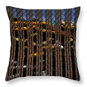 Stored For Now Throw Pillow