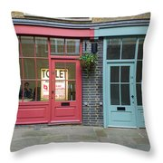 Storefronts For Let Throw Pillow