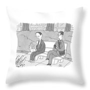 Stories About Crumbs Throw Pillow
