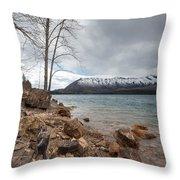 Storm A Brewin Throw Pillow