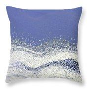 Storm At Sea Throw Pillow