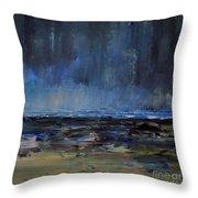 Storm At Sea IIi Throw Pillow