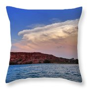 Storm Brew Throw Pillow