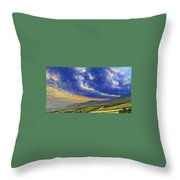Storm Brewing In Donegal Throw Pillow