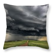 Storm Chaser  0352 Throw Pillow