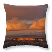 Storm Clearing Throw Pillow