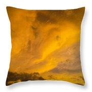 Storm Clouds 3 Throw Pillow
