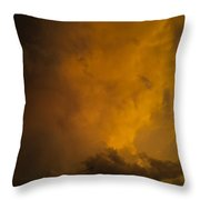 Storm Clouds 4a Throw Pillow