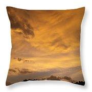 Storm Clouds 6 Throw Pillow