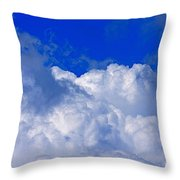 Storm Clouds From Ike Throw Pillow
