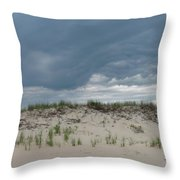 Storm Dune Throw Pillow