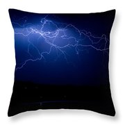 Storm Front Throw Pillow