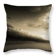 Storm Is Coming Throw Pillow