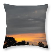 Storm Moving Out Throw Pillow