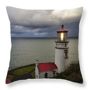Storm Offshore Throw Pillow