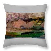 Storm On The Mountain Throw Pillow